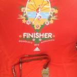 ホノルルマラソン完走しました